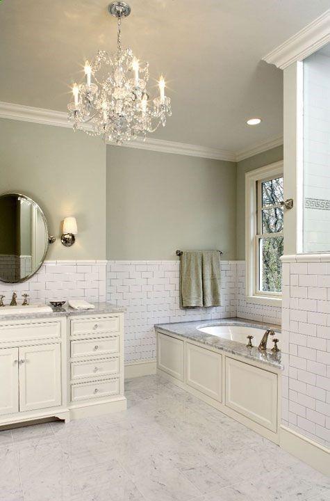 Bathroom Tiles Colour Matching : Subway tile backsplash shower tiles and on