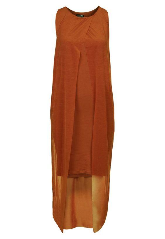 Jerseykleid - copper