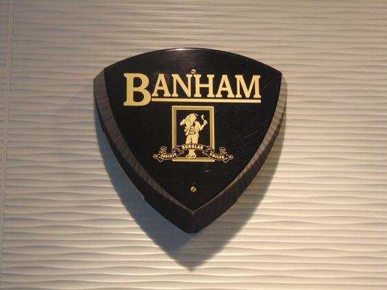 Banham External Bell - Black