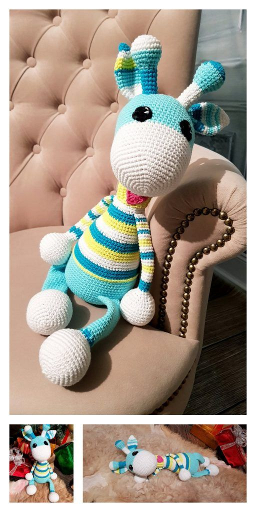 Amigurumi Crochet Giraffe Tutorial - YouTube   1024x512
