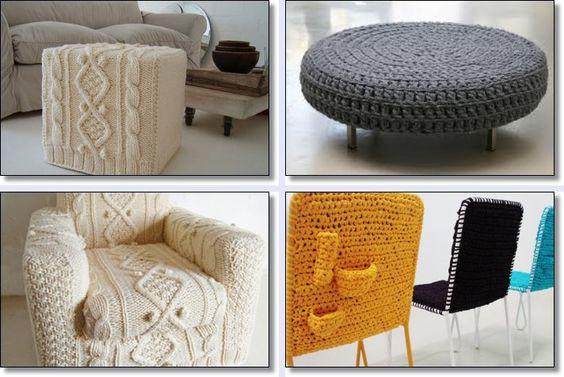 tricot e crochê