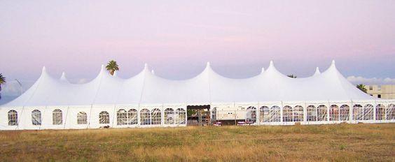80x120 Pole Tent