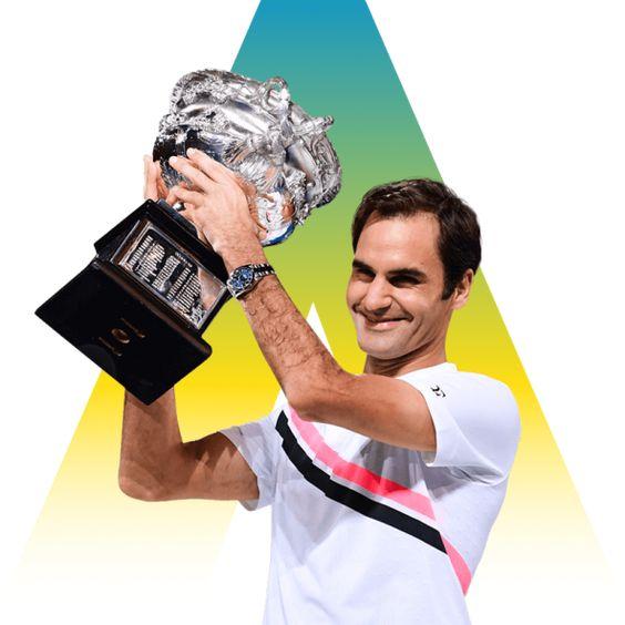 Campeon O. Australia 2018: Roger Federer
