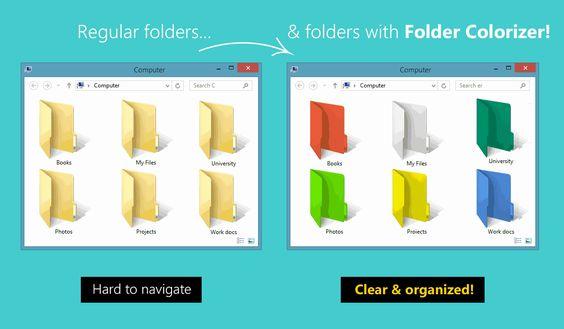 Colorizer Folder Free Grátis   hardwareysoftware.net