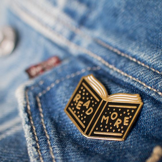 Read More Enamel Pin via Studio Coup. Click on the image to see more!