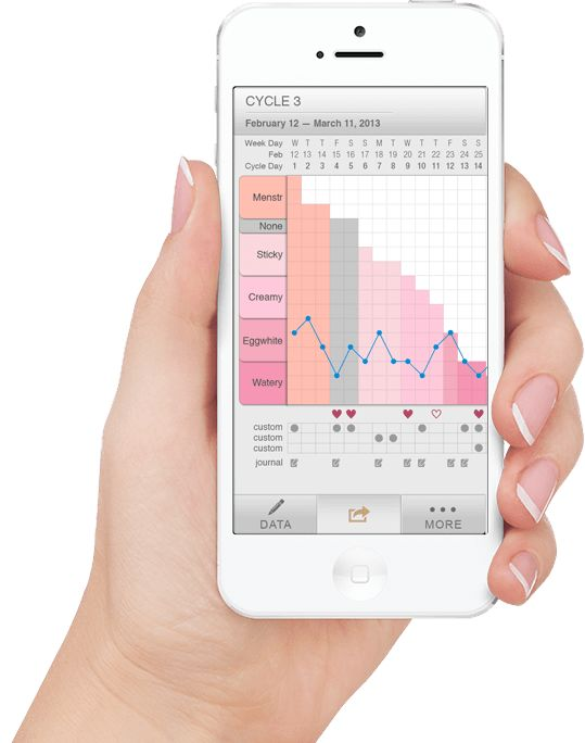 features apps tracking your fertility