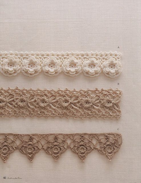 Ivelise Hand Made: Barradinhos Lindos In Crochet: