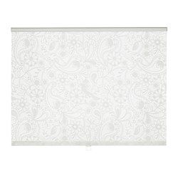 """IKEA - LISELOTT, Roller blind, 23x77 """", , The blind is cordless for increased child safety.Can be mounted inside or outside the window frame, or in the ceiling.You can cut the right side of the roller blind (up to 8"""") to fit your window.:"""