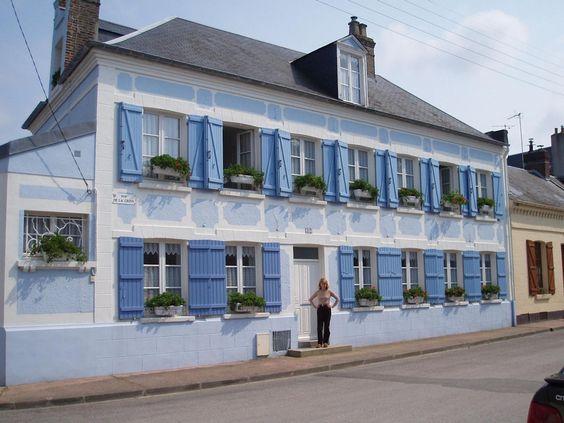La maison bleue en baie chambres d 39 h tes de charme au for Chambre d hotes picardie