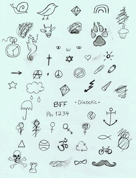 Tatuagens Pequenas E Delicadas De 120 Modelos De Desenhos Stick