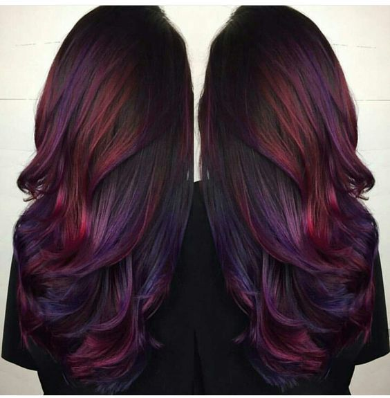 The Best Hair Color Ideas For Brunettes Hair Styles Hair Color Purple Cool Hairstyles