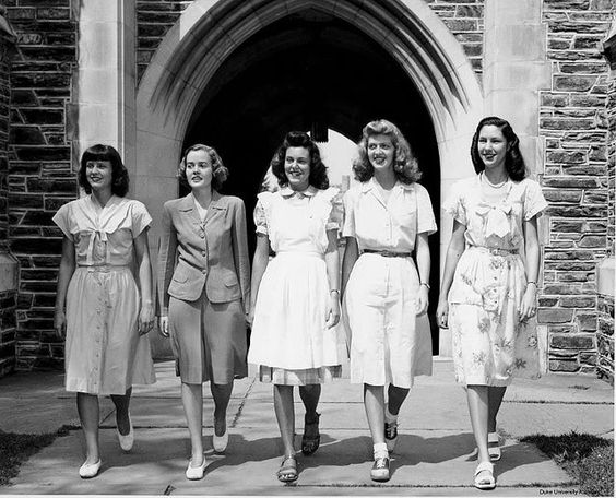 15 photos of terrific real world 1940s summer fashions