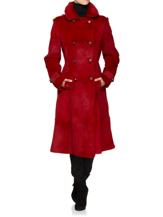 ♥ Cavalli Class Coat ♥ Real Fur ♥ $1,689 ♥ http://www.luxebutik.com/women-cavalli-class-coat-red-real-fur-p4087