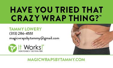 Crazy Wrap Thing Two-Sided Business Card - Business Cards - Biz Tools