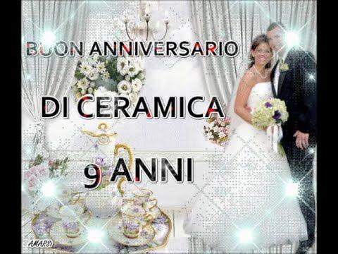 Anniversario Matrimonio 9 Anni.Buon Anniversario Nozze Di Ceramica 9 Anni Di Matrimonio