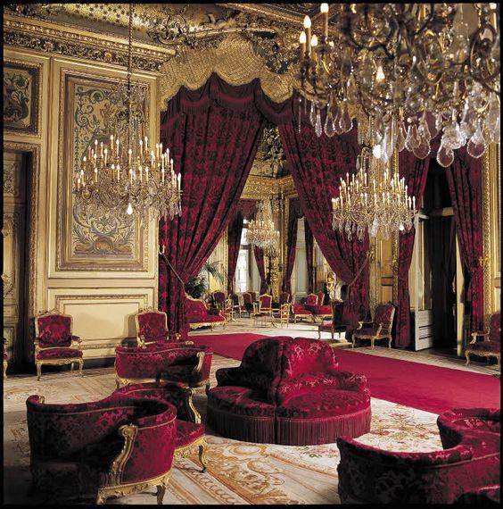 Appartements Napoléon III Appartements Napoléon III. Salon théâtre Salle 85 Richelieu, 1 e étage