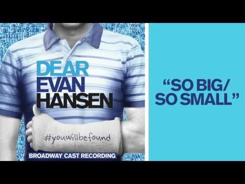 Quot Disappear Quot From The Dear Evan Hansen Original Broadway Cast Recording Youtube Dear Evan Hansen Dear Evan Hansen Lyrics Evan Hansen
