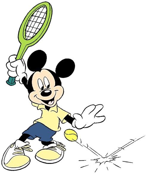 mixed doubles tennis clipart - Clip Art Library