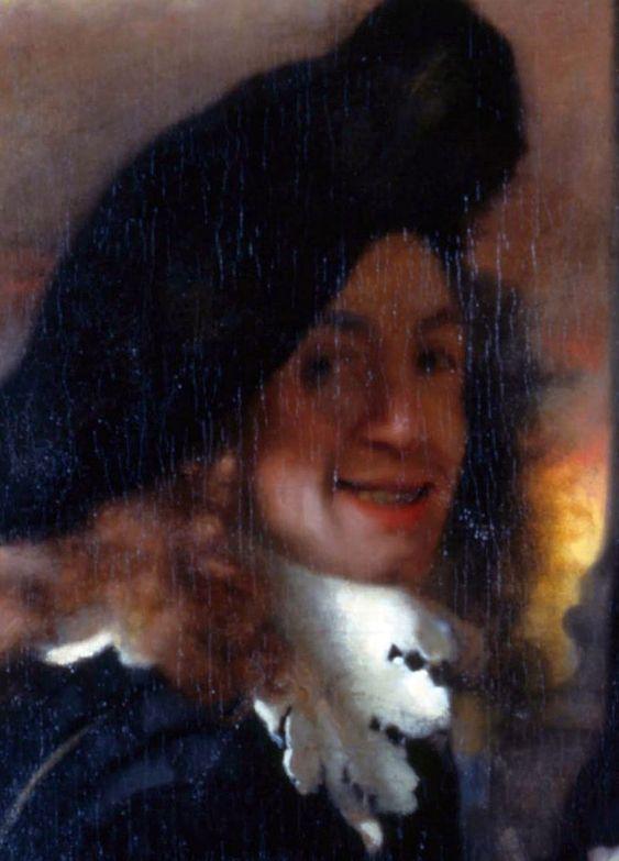 Self-portrait by Jan Vermeer