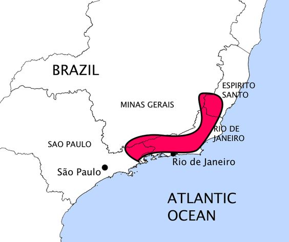 road map of brazil pictures the