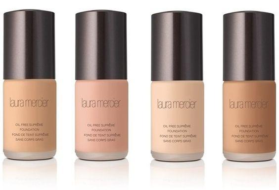 8. Liquid Laura Mercier Oil Free Supreme Foundation   Best Foundation For Oily Skin   Makeup Tutorials