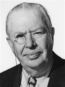 Charles Coburn. Played suave aristocratic supporting roles.