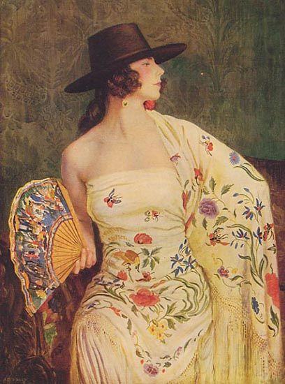 George Owen Wynne Apperley,figurative oil painting, portrait painting: