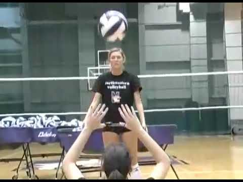 Christie Landry Volleyball Setting Video Pt 1 Youtube In 2020 Volleyball Volleyball Clubs Northwestern University