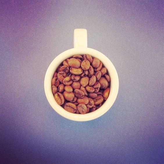 Ein Bild von den neuen Kaffeebohnen die wir heute testen... vielleicht kommt dann auch eine neue Rösterei auf unsere Liste!