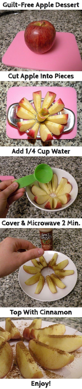 Guilt-Free Apple Dessert | Recipe By Photo