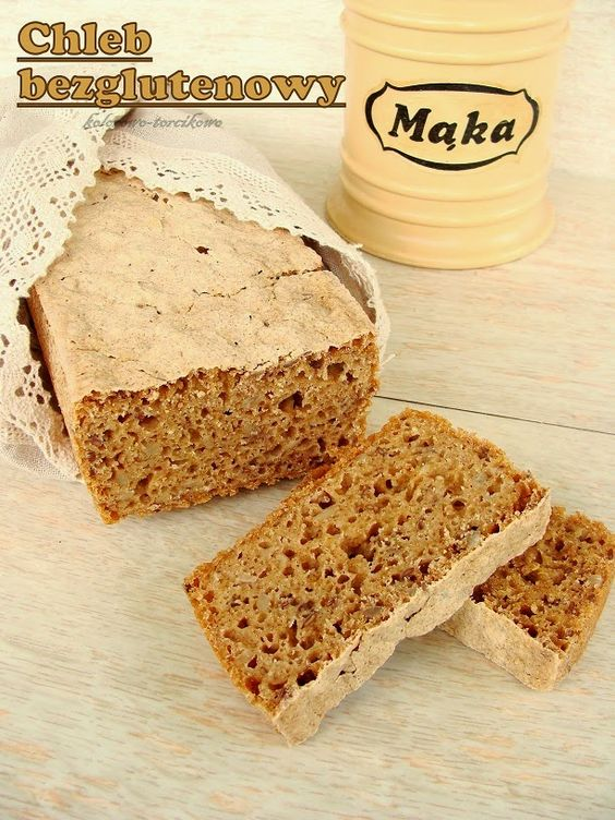 Kolorowo - torcikowo: Chleb bezglutenowy