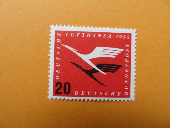 BRD 1955 Lufthansa Mi 208 postfrisch (56) in Briefmarken, Deutschland, Deutschland ab 1945 | eBay