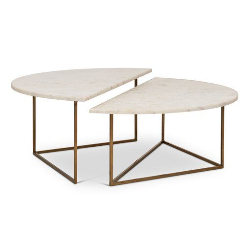 Met 2 Piece Coffee Table Set Coffee Table Nesting Coffee Tables