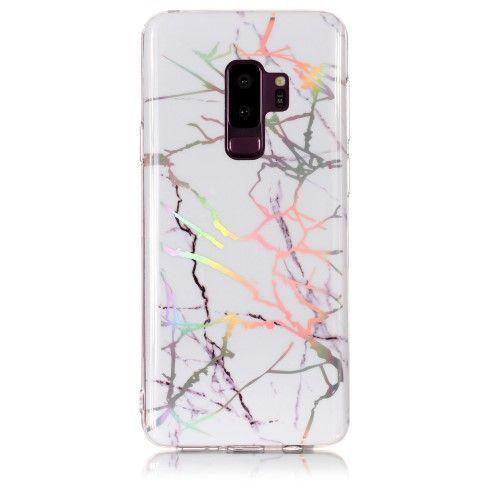 Coque Samsung Galaxy S9 Plus Marbre Premium - Blanc | Phone cases ...