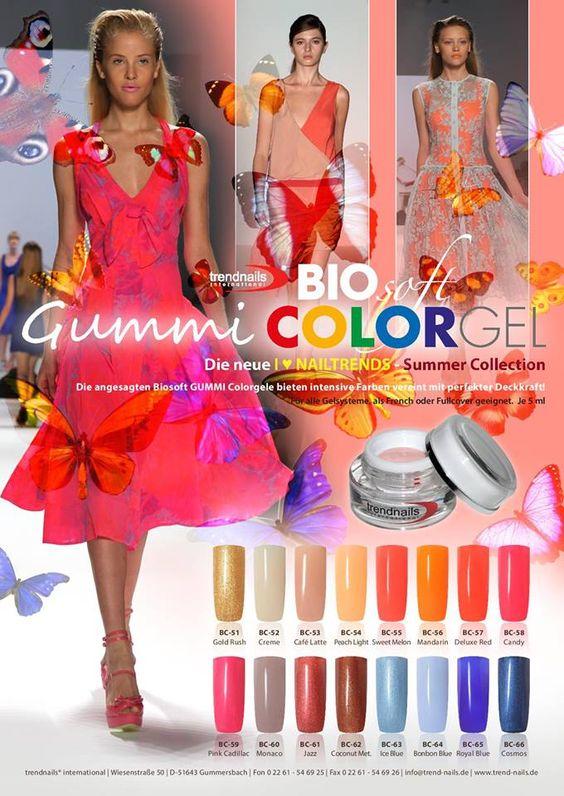 Gummi COLOR GEL Bio Soft Rufen Sie uns an, wir beraten Sie gerne! 02261-546925 Online-Shop auf www.trend-nails.de Sie können auch vor Ort in unserem Shop in der Wiesenstr.50 in 51643 Gummersbach einkaufen.