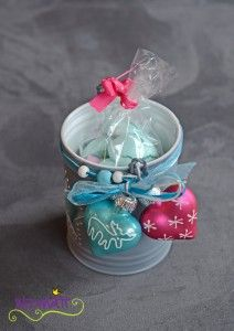 Geschenk 1. Advent * Sophie von LalaSophie an Irene von Widmatt * Sternenkerzenbüchse mit Wichtelküsschen