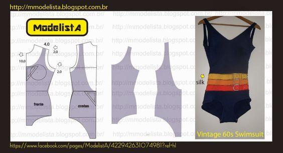 ModelistA: MAIÔ Swimwear pattern: