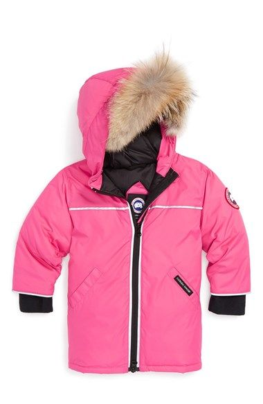 Canada Goose montebello parka online authentic - Reese' Down Jacket with Genuine Coyote Fur Trim (Baby) | Fur Trim ...