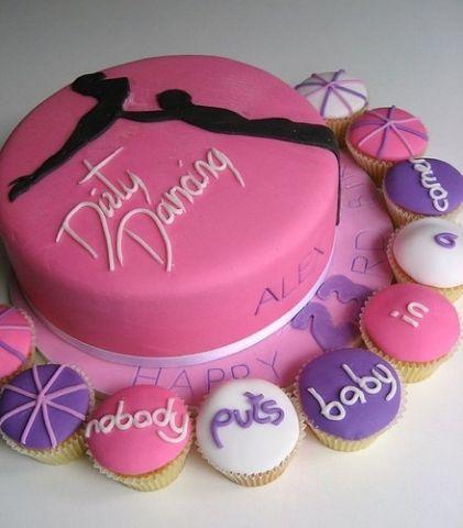 Dirty Dancing Cake @Amy Ausen my 20th birthday cake (: ??