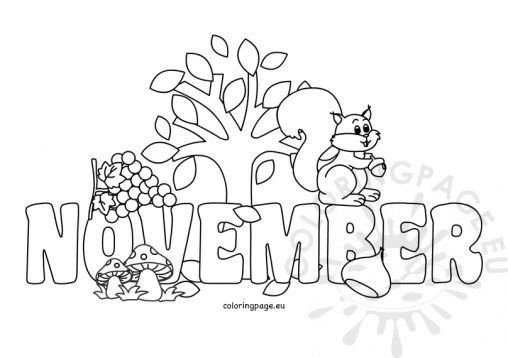 Easy November Coloring Pages Fall Coloring Pages Coloring Pages Coloring Pages To Print