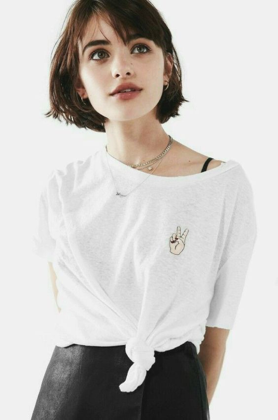 30 Cute Short Bob Hairstyle With Bangs Ideas 26