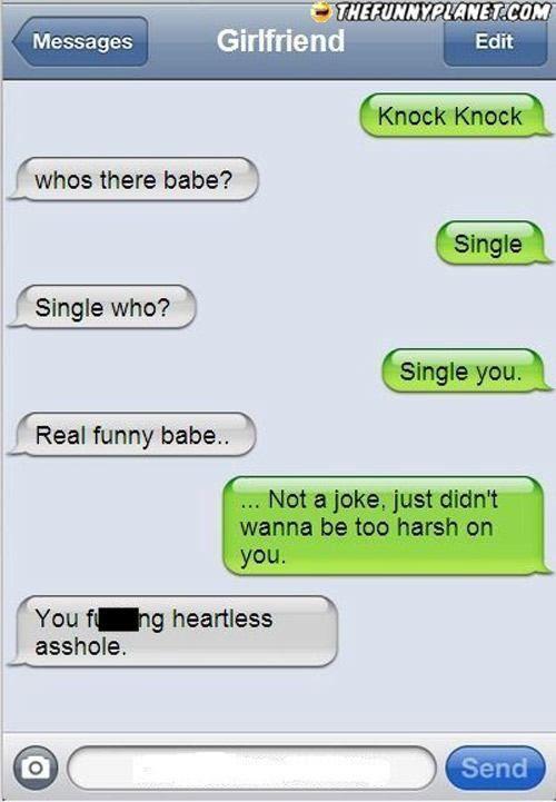 Cute Knock Knock Jokes For Boyfriend In 2020 Funny Breakup Texts Breakup Humor Break Up Texts