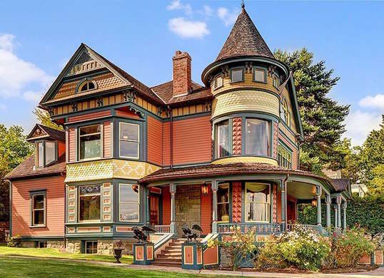 18 Victorian Homes We Love With Images Victorian Homes Victorian Houses For Sale Victorian Style Homes