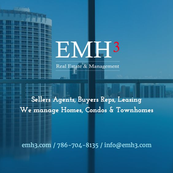 EMH3 Real Estate & Management We are Sellers Agents, Buyers Reps. We manage Homes, Condos & Townhomes.