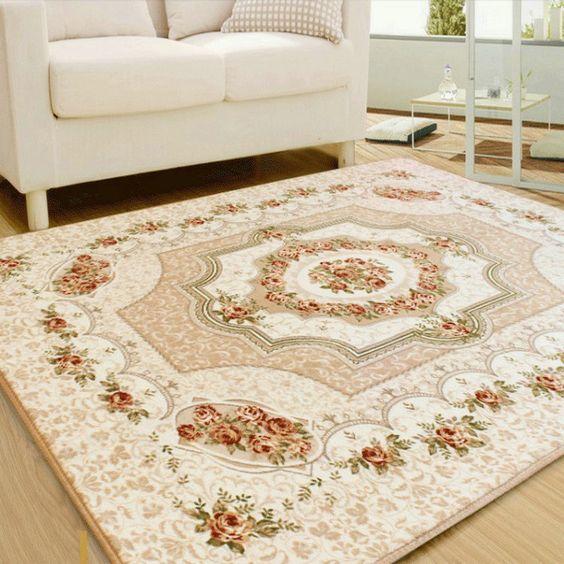 Living Room Carpet Chair Yoga Mat Jacquard Sofa Floor Mats Doormat