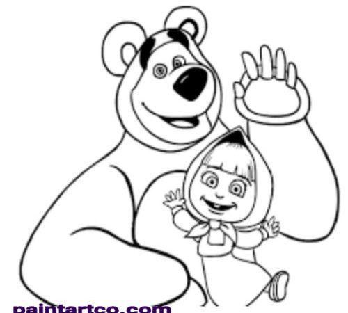 رسمات غير ملونه سهلة وبسيطة لتعليم الاطفال الرسم والتلوين بسهولة وزيادة قدراتهم العقل Bear Coloring Pages Cartoon Coloring Pages Disney Princess Coloring Pages