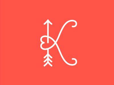 K Heart Tattoo Back > Gallery For > Letter K Heart Tattoo