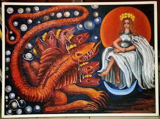 #MariaLuisaIbanezArt #Art #Painting #Spain #Catholic #Virgen