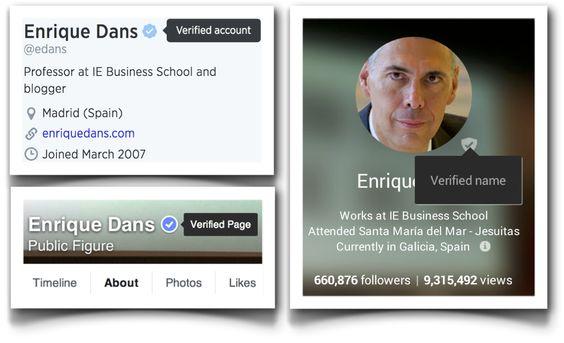 La verificación en redes sociales como supuesto privilegio