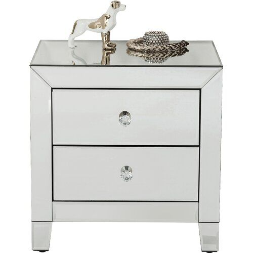 Kare Design Luxury 2 Drawer Bedside Table Bedside Table Luxury